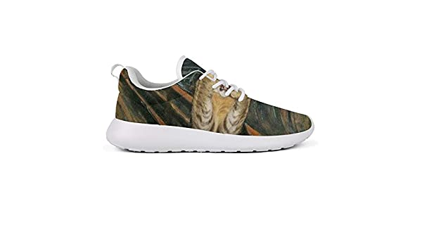 Hobart dfgrwe Leopards Tropical Leaves and Roses Womens Lady Skateboard Casual Shoes Sneakers Cute Sports Shoes