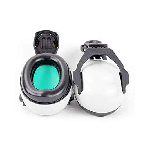 FS Head-mounted Noise-proof Earmuffs,Noise-proof Earmuffs Special Earmuffs For Helmet-type Helmet Construction Noise Reduction 25 Decibels (Color : Earmuffs) by FSHEZ (Image #1)