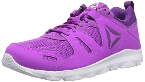 Reebok Women's Dashex TR 2.0 Track Shoe, Vicious Violet/White/Aubergine, 10 M US by Reebok
