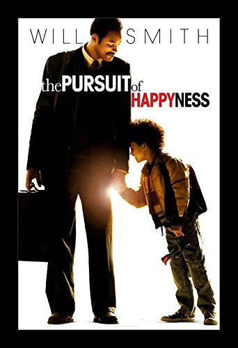 The Pursuit of Happiness - 11x17 Framed Movie Poster by Wall