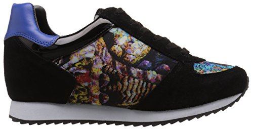 Nove Sneakers In Pelle Scamosciata West Telly Nera