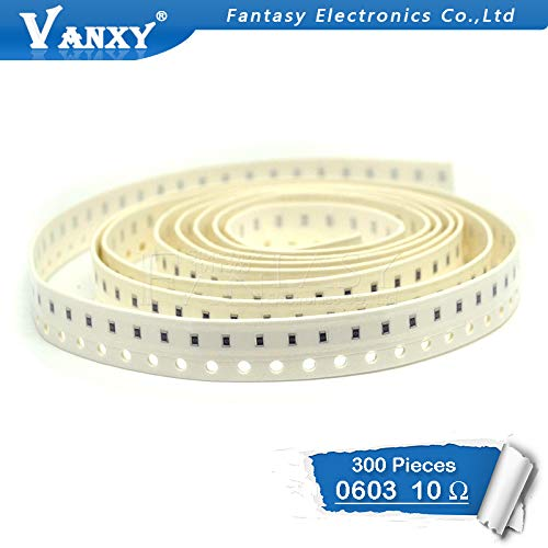 100 Ohm 1//10W 0603 Fixed Resistors 1/% Tolerance 300pcs uxcell SMD Chip Resistor
