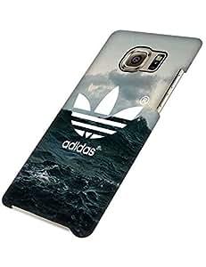 Customized diseño Adidas Brand Logo Case Samsung Galaxy S6 Edge Plus Case Shock Absorbing White Pattern Galaxy S6 Edge Plus (Not S6/S6 Edge) Case 3D Case For Girls Teen