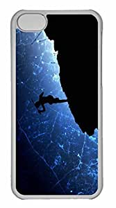 iPhone 5C Case, Personalized Custom Warrior Dance for iPhone 5C PC Clear Case