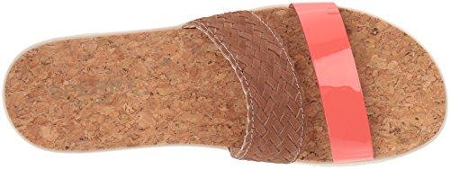 Tan Women's Pearl 5 sider Us Top Medium Sandal Sunkiss Sperry coral 8 YwAOZnq