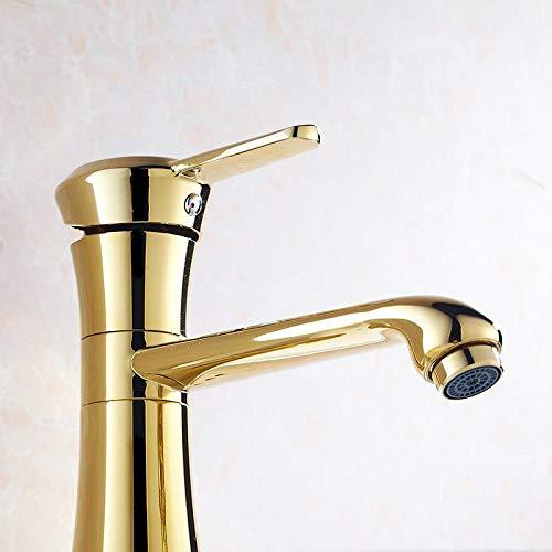 Taps Faucet golden Hot and Cold Basin Faucet Wash Basin Quartet Fashion Faucet Bathroom Faucet