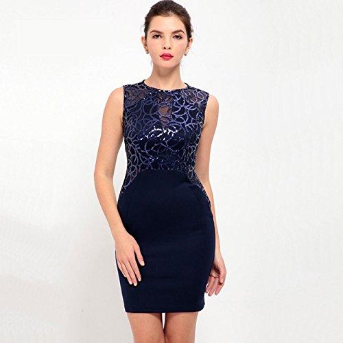 Vestidos Ropa De Moda Para Mujer Sexys Cortos Largos De Noche Casuales y Elegantes VE0074 at Amazon Womens Clothing store: