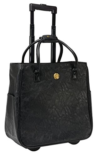 Anna Griffin Black Rolling Tote