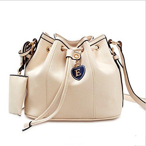 Top Shop Womens Bucket Totes Shoulder Bags Handbags Beige Hobos with Card - Biasia Tote Francesco Woven