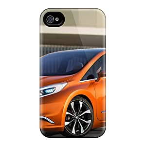 ArtCover Case Cover For Iphone 4/4s - Retailer Packaging Nissan Invitation Concept 2012 Protective Case