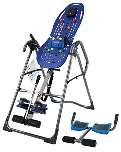 Teeter EP-970 Ltd. Inversion Table, Deluxe Easy-to-Reach Ankle Lock, Back Pain Relief Kit, FDA-Registered (EP-970 Ltd. + P2) (Teeter Hang Ups Spinal Stretch Back Stretcher)