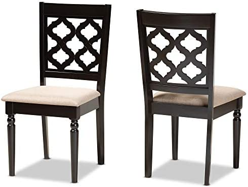 Baxton Studio Set of 2 176-11371-AMZ Dining Chair