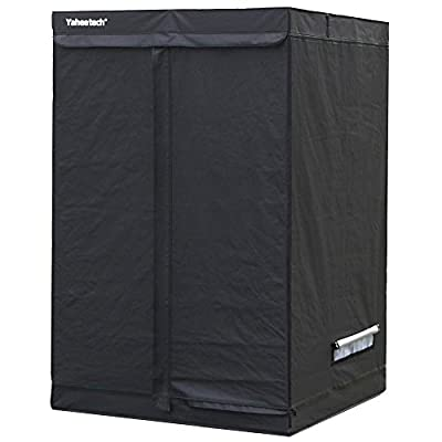 "Yaheetech Grow Tents Reflective Hydroponics Plant Growing Room, 48"" L x24"" W x60"" H"