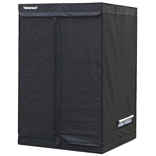 Yaheetech Grow Tents Reflective Hydroponics Plant Growing Room, 48