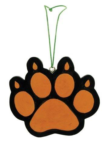 Bear Paw Writable Figurine Ornament, 3-inch, Hanging Tree (Bear Tree Decoration)