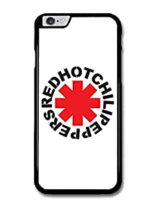 Red Hot Chili Peppers Rock Band RHCP Red Logo case for iPhone 6 Plus