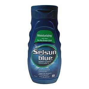 Selsun Blue Moisturizing with Aloe Dandruff Shampoo 11 oz