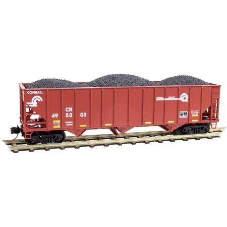 Micro-Trains MTL N-Scale 100-Ton 3-Bay Hopper Conrail/CR Quality Logo #495003