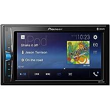 "Pioneer Double DIN 6.2"" WVGA MP3 ID3 Tag Display Rear USB Input Mechless Bluetooth in-Dash AM/FM Digital Media Car Stereo Receiver"