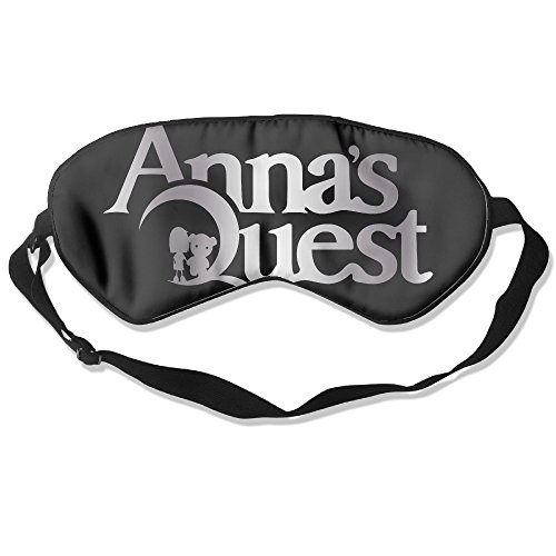 Price comparison product image Annas Quest Logo Platinum Style Sleeping Eye Mask