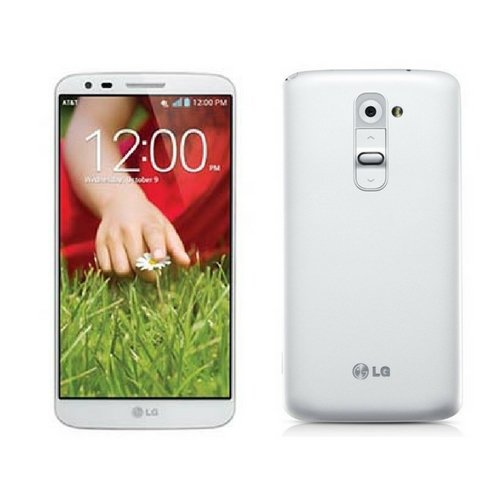 LG G2 D800 32GB Unlocked GSM 4G LTE 2.26 GHz Quad-Core Android Smartphone with 13 MP Camera (White)
