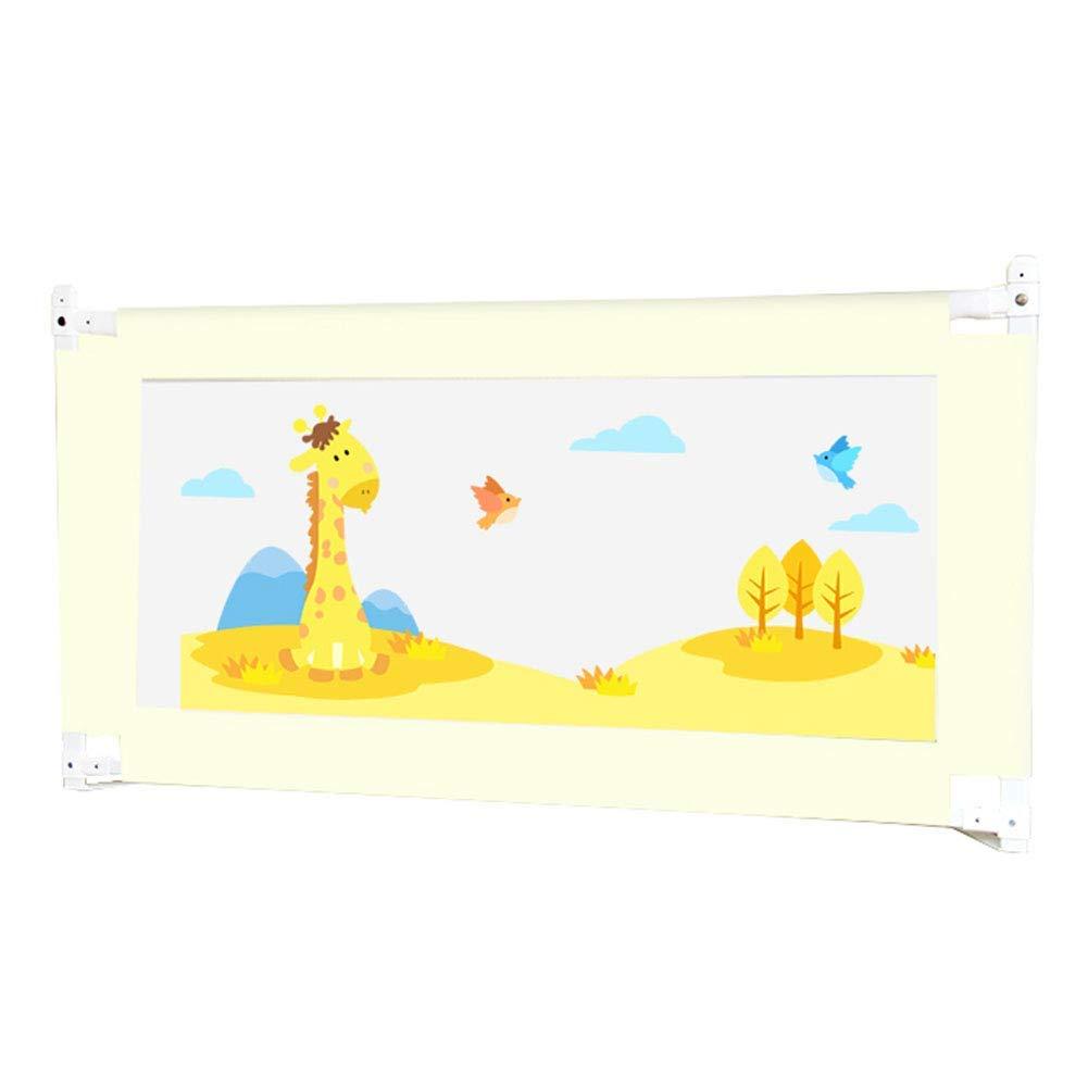 ベビーベッドレールエクストラトール折りたたみ式、縦リフトベッドレール用幼児ロングシングル子供用メッシュベビーベッドレール - ベージュ,180cm  180cm B07TYSBWJX
