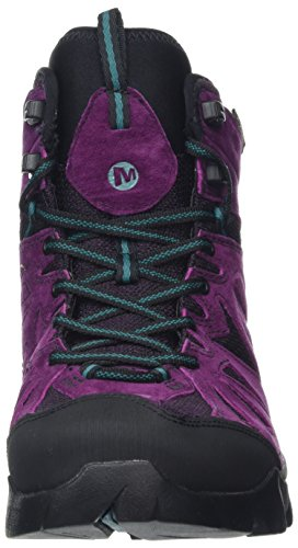 Merrell Women's Capra Mid Gore-Tex High Rise Hiking Boots Purple (Berry) ximNKxRA