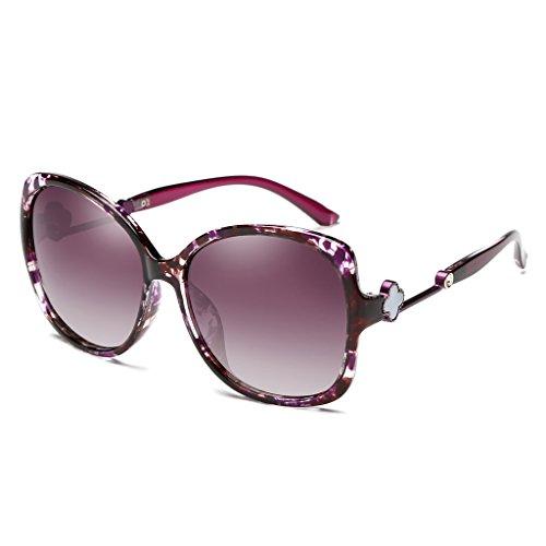 De Nuevas Moda Sol Personalidad Rojo La ULTRAVIOLETA Color De Purple De Polarizadas De Lentes Elegantes Sol Gafas LIUXUEPING BqFPF
