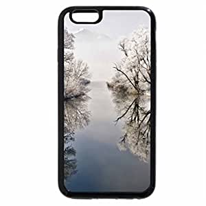 iPhone 6S / iPhone 6 Case (Black) reflection on a lake in autumn