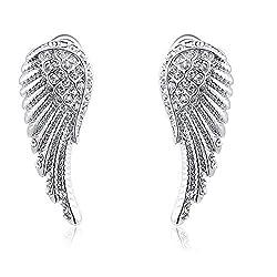 Angel Wings Studded Earrings for Women