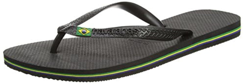 Havaianas Brasil Logo, Unisex Kids' Flip Flops, Blue (Navy Blue 0555), 7 Child UK (25/26 EU) (23/24 BR)