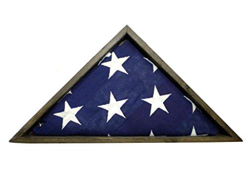 Distressed-Fence-Slat-Wood-Flag-Display-Case-for-5×95-Veteran-Memorial-Flag-MADE-IN-AMERICA