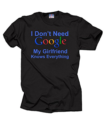 Google Girlfriend Knows Everything Shirt