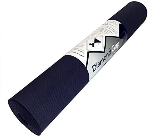 Diamond Grip Yoga MAT Finally, a Yoga mat Made to Grip Your Yoga Towel. Generously Sized at 26 x 72