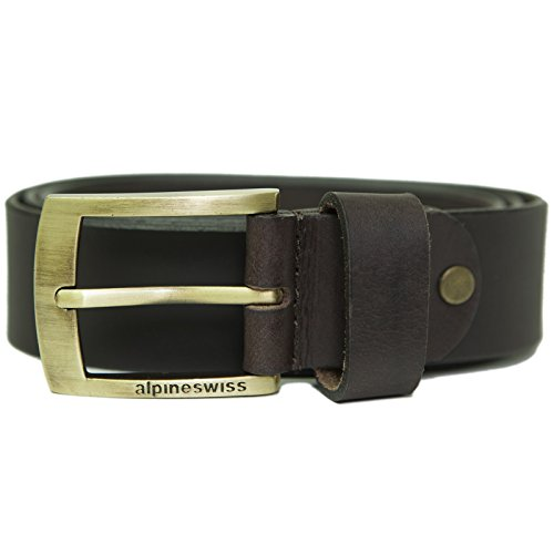 Alpine Swiss Leather Casual Signature product image
