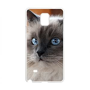 Adorable Cat With Green Eyes Phone Case for Samsung Galaxy Note4