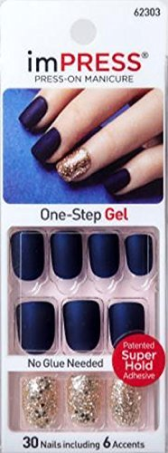 KISS 2x Longer Lasting imPRESS BELLS & WHISTLES by Broadway Press-On Manicure Nails by - Broadway Shopping Mall