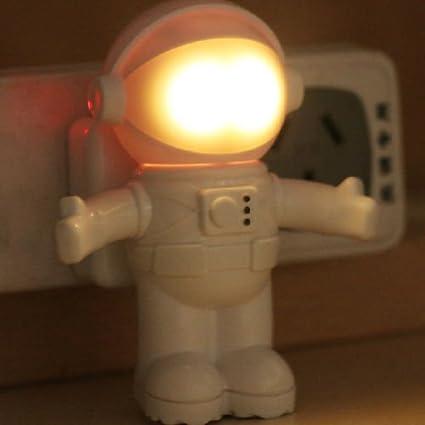 Amazon.com: Creative Astronaut LED Night Light Sound Light Control ...