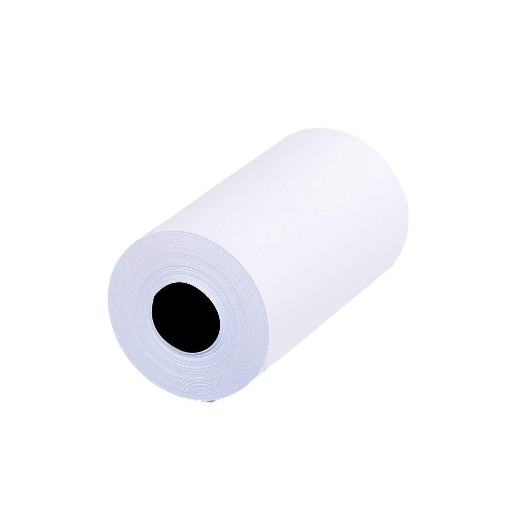 3Pcs White Thermal Printing Record Paper for Phone Thermal Printer Thermal Print Paper Records Normal Temperature Avoid Moisture Avoid Direct Sunlight