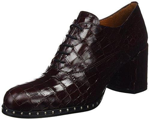 Mujer 6280 Zapatos Es Rojo Quintana Cordones Pons De vino 014 Para Oxford Retail tOA6vw