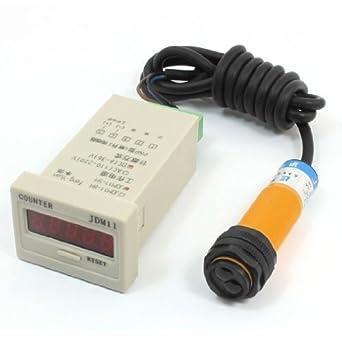 No 30 cm Opto sensor detector fotográfico Switch E18 de b03p1 W Plato: Amazon.es: Industria, empresas y ciencia