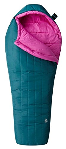 Mountain Hardwear Hotbed Flame 20 Sleeping Bag - Women's River Rock Green Regular/Right Zip Mountain Hardwear Womens Sleeping Bag