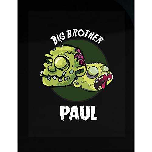 Prints Express Halloween Costume Paul Big Brother Funny Boys Personalized Gift - Sticker -