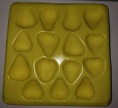 Strawberry Halves Candle & Soap Mold