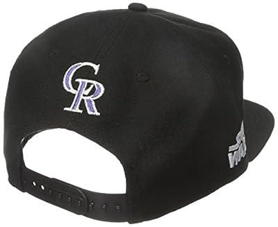 New Era Cap Men's Logo Swipe Colorado Rockies Star Wars 9Fifty Snapback Cap