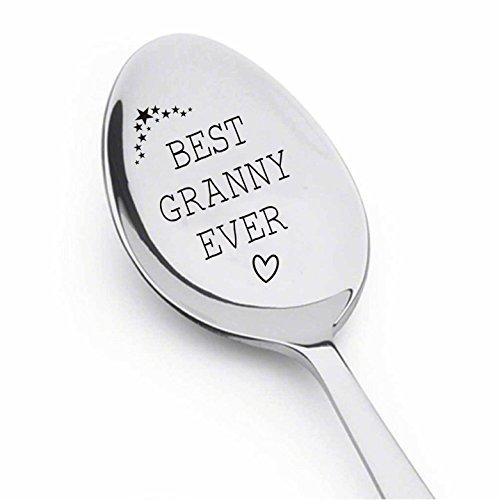 Best Grandma Ever Spoon, Grandma gift, gifts for grandma, best selling items,new grandma,grandma to be, grandmother gift, mom gifts, mothers day gifts, grandmother of the bride,spoon#SP_069