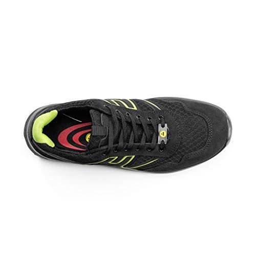 41 Etpu Seguridad Premium S1p Negro nbsp;zapatos De verde Src Lu20126 Lupos Esd fzwRC