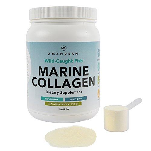 Premium anti aging marine collagen powder 17 6 oz wild for Best fish collagen