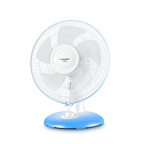 Fan MMM- Electric Desk/Floor/Pedestal Vertical 12 Inches/Five Leaf Blades/Mechanical Control Adjustable Three Gear Wind Speed Pivoting Apply To Household Office Restaurant,2647cm by Fan