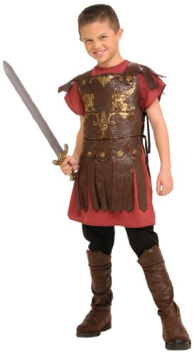 Ancient Greek Costumes For Boys (Child's Gladiator Costume, Large)